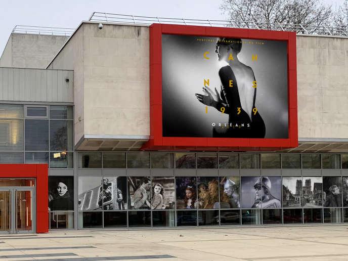 Le théâtre d'Orléans, où a lieu «Cannes 1939».