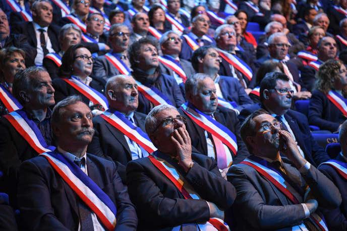 Assises des maires bretons, à Saint-Brieuc, le 3 avril.