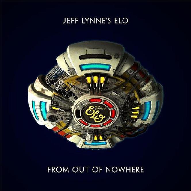 Pochette de l'album« From Out of Nowhere», de Jeff Lynne.