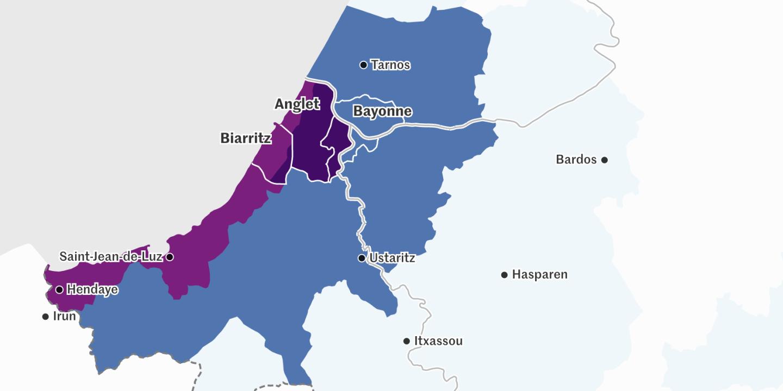 Loyers à Bayonne, Anglet ou Biarritz : où pouvez-vous habiter selon votre budget ? - Blog Le Monde