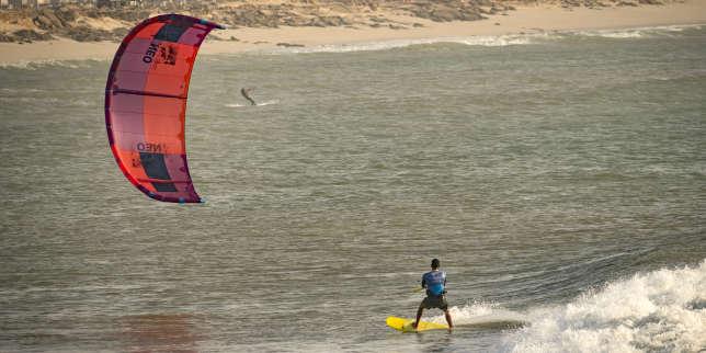 Sahara occidental: Dakhla, du poste militaire au spot de kitesurf