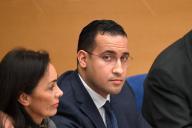 Alexandre Benalla lors d'une audition au Sénat, le 21 janvier.