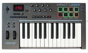 Convient mieux aux musiciens expérimentés Nektar Impact LX25 +