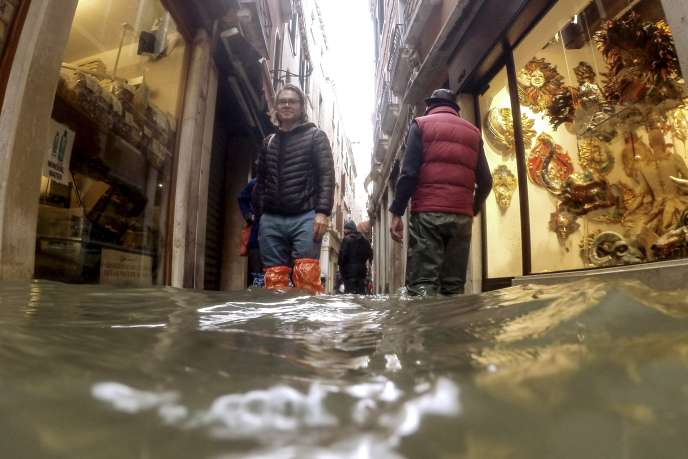 A Venise, le 15 novembre 2019.