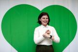 La députée néo-zélandaise du Green Party Chlöe Swarbrick, en 2017.