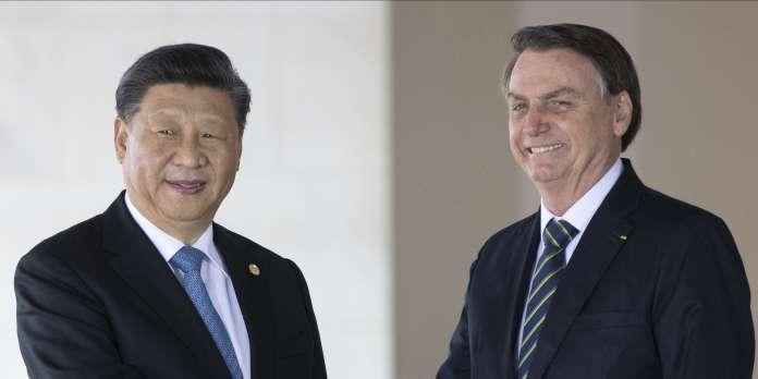 Lors du sommet des BRICS, Jair Bolsonaro fait les yeux doux à Xi Jinping