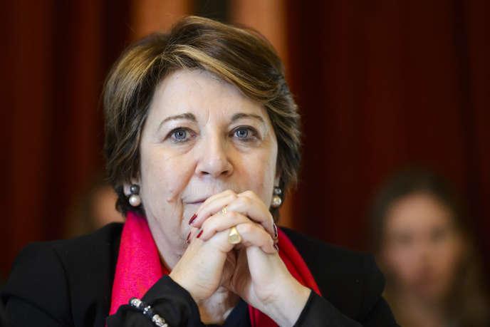 Corinne Lepage,avocate, ex-ministre de l'environnement (1995-1997) et ex-députée européenne (2009-2014).