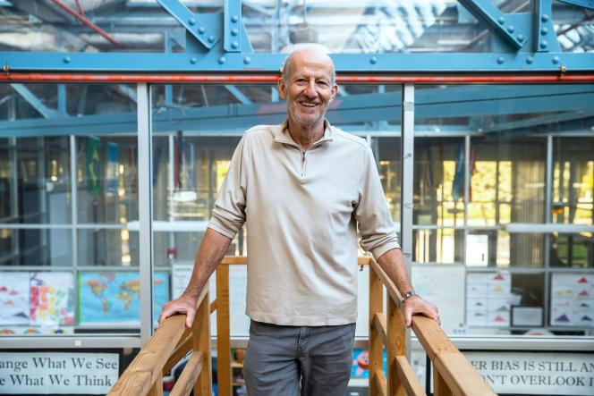 Larry Rosenstock, directeur de la High Tech High, à San Diego, en novembre 2019.