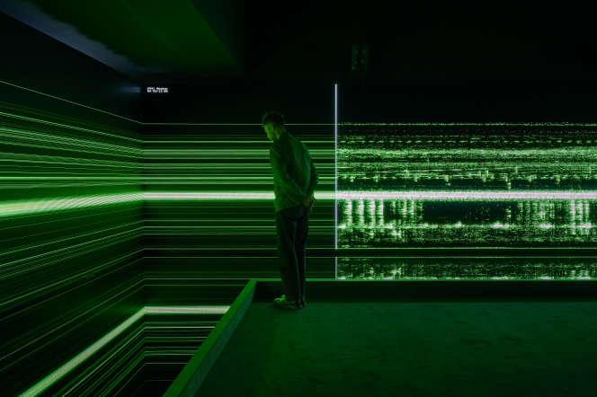 «Le Grand Orchestre des animaux», installation conçue par Bernie Krause et le studio de création numérique UVA.