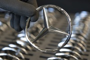 Dans l'usine du constructeur des Mercedes, Daimler, à Rastatt, en Allemagne, le 6 février.
