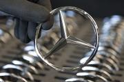 Dans l'usinedu constructeur des Mercedes, Daimler, à Rastatt, en Allemagne, le 6 février.