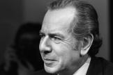 Le journaliste et écrivain Jean Daniel, en 1977 à Paris.