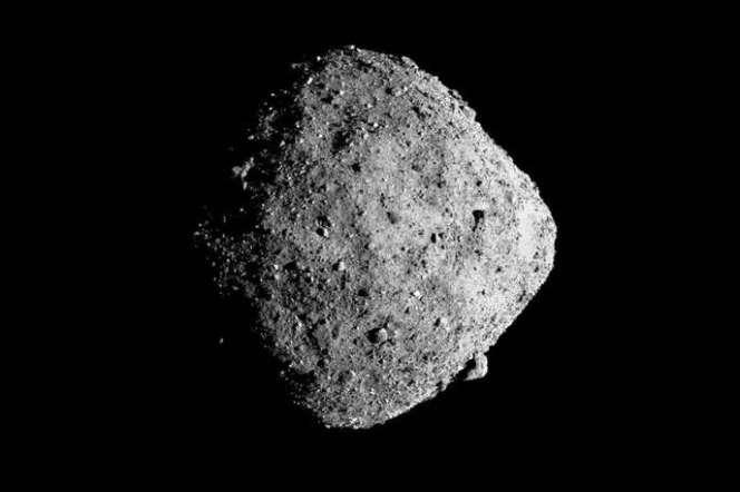 L'astéroïde Bénou photographié par la sonde Osiris-Rex.