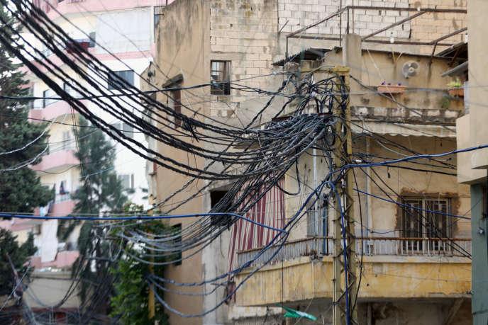 Dans une rue de la capitale du Liban, Beyrouth, le 4 novembre.