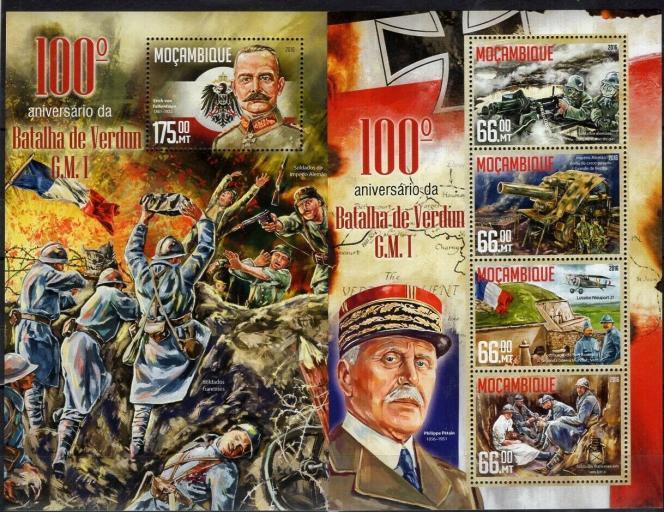 La Croix-Rouge, sur un timbre du Mozambique de 2016, répertorié par« Le Philatéliste Croix-Rouge».