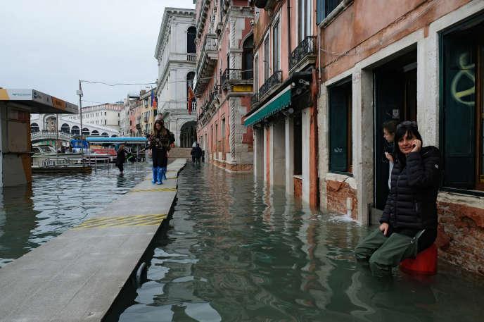 A Venise, en Italie, le 17 novembre.