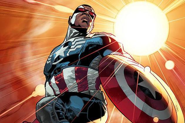Un premier Captain America noir, Isaiah Bradley, a été imaginé en2003.