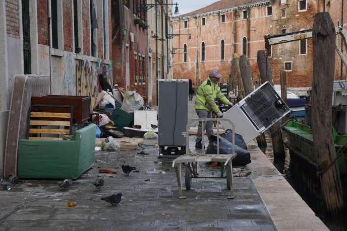 Venise, lundi 18 novembre.