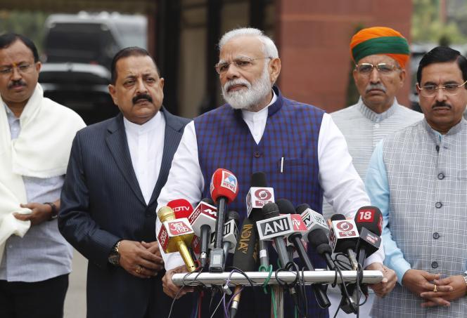 Le premier ministre indien, Narendra Modi, le 18 novembre à New Delhi.