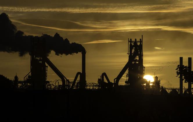 L'usine British Steel de Scunthorpe, dans le nord-est de l'Angleterre, en septembre 2016.