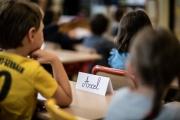 Dans une classe d'une école élémentaire, à Paris, le 2 septembre.