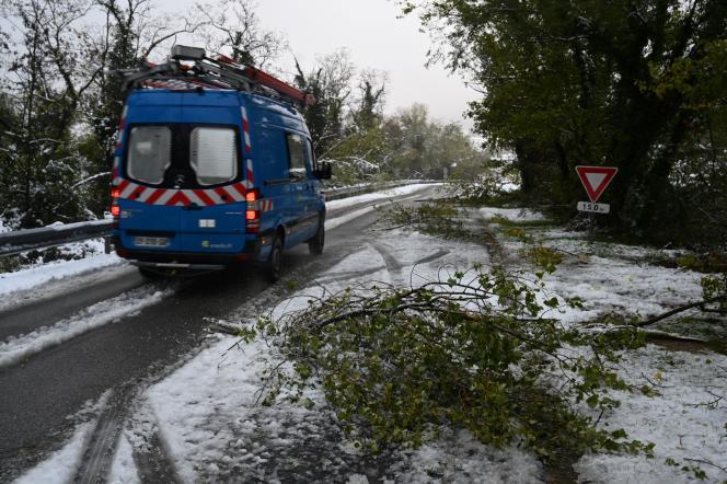 Lundi matin, près de 700 clients étaient touchés dans le Doubs et 1 521 dans le département voisin de la Haute-Saône, a précisé Enedis.