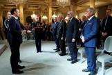 Le président de la République, Emmanuel Macron, a décoré quatre maires lundi 18 novembre à l'Elysée.