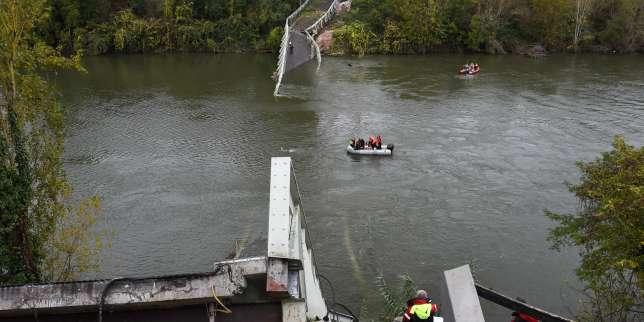 Le parquet ouvre une information judiciaire après l'effondrement du pont de Mirepoix-sur-Tarn