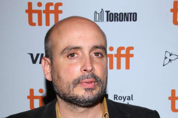 Le réalisateurPeter Strickland lors de la première de son film «In Fabric», en septembre 2018, au Festival de Toronto.