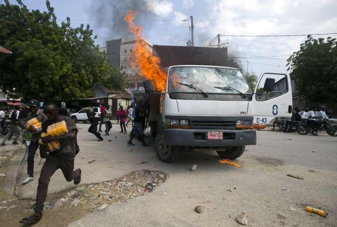 A Port-au-Prince, le 19 novembre 2019.