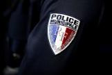 Ecusson de policier municipal.