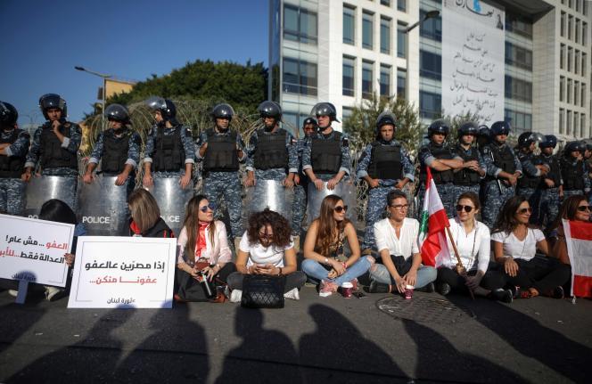A Beyrouth, le 19 novembre.