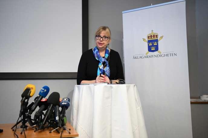 Phó công tố viên Thụy Điển Eva-Marie Persson.