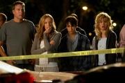 De gauche à droite: John Corbett,Toni Collette, Keir Gilchrist etBrie Larson dans la série de Diablo Cody,«United States of Tara».