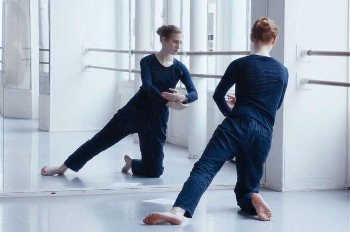 Agathe Bonitzer joue une danseuse dans«Les Enfants d'Isadora», de Damien Manivel.