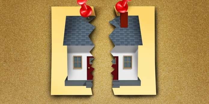 Le logement acheté en commun, sujet de crispation pour les ex-conjoints