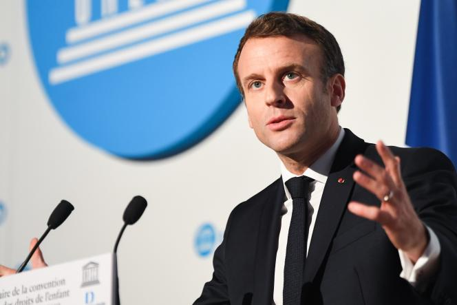 Ces annonces ont été faites à l'occasion du 30e anniversaire de la Convention internationale des droits de l'enfant, mercredi20novembre à Paris.