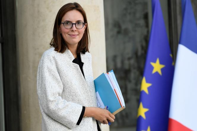 Amélie de Montchalin, secrétaire d'État chargée des Affaires européennes, le 9 octobre à Paris.