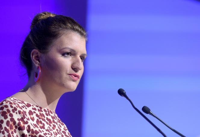 La secrétaire d'Etat chargée de l'égalité entre les femmes et les hommes, Marlène Schiappa, le 20 novembre 2019, à Paris.