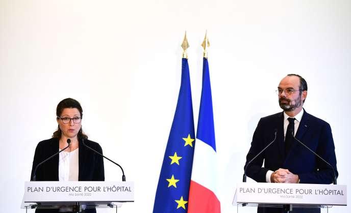 Le premier ministre, Edouard Philippe, et la ministre de la santé, Agnès Buzyn, mercredi 20novembre.
