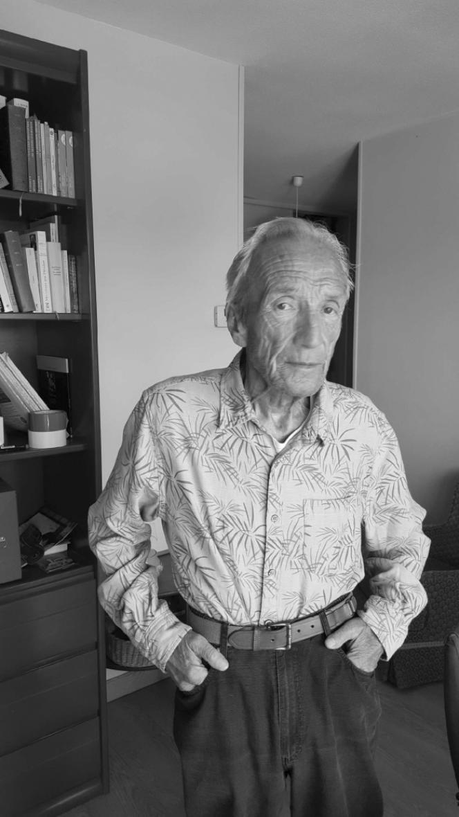 Le traducteur Bernard Kreiss, en 2015