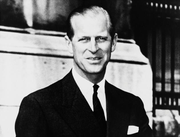 Le prince Philip, duc d'Edimbourg, en 1969.