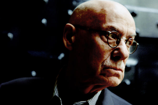James Ellroy, à Paris, le 13 novembre 2019.