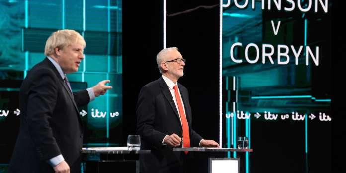 Elections britanniques : quasi-match nul entre Boris Johnson et Jeremy Corbyn