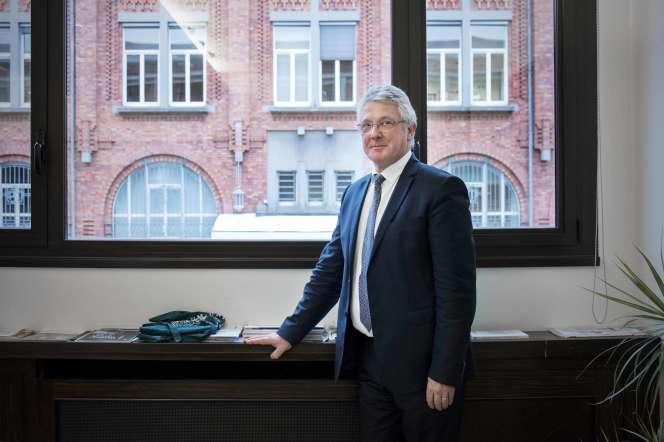 Jean-Christophe Camart, à l'université de Lille, le 18 novembre 2019.