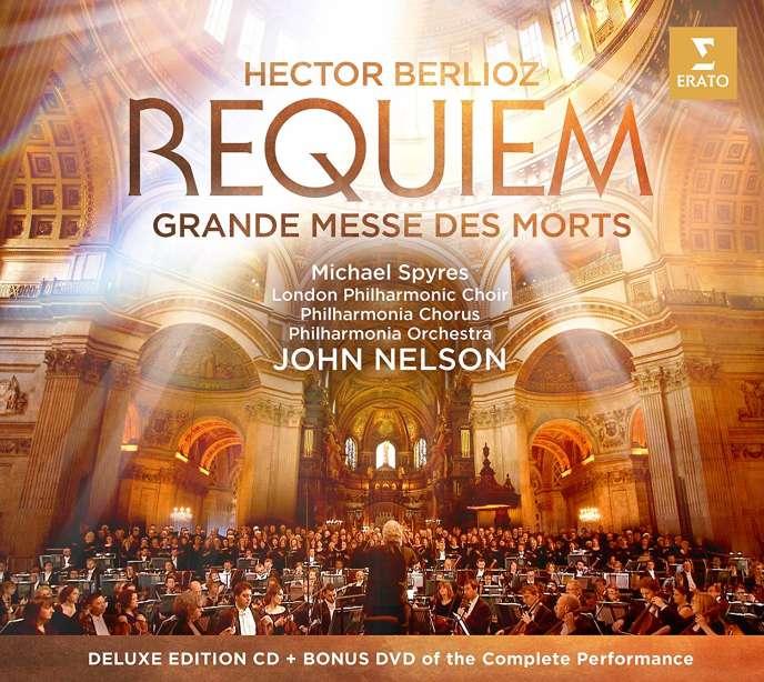 Pochette de l'album« Requiem», de Berlioz. Avec Michael Spyres (ténor), Chœur philharmonique de Londres, Chœur et Orchestre Philharmonia, John Nelson (direction).