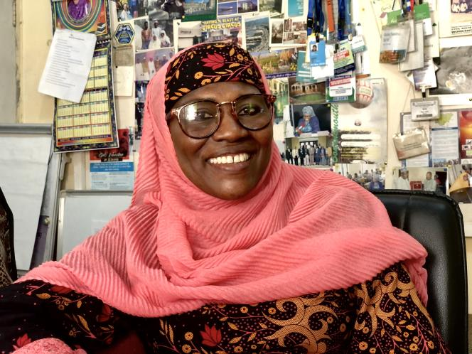 La physicienne Rabia Sa'id, à Kano, au Nigeria, en novembre 2019.