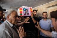 Aux funérailles d'Havrin Khalaf, à Derik (Syrie), le 13 octobre.