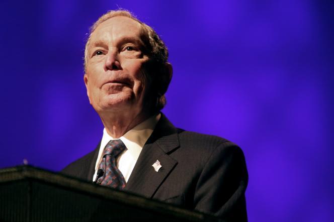 L'ex-maire de New YorkMichael Bloomberg, le 17 novembre 2019.