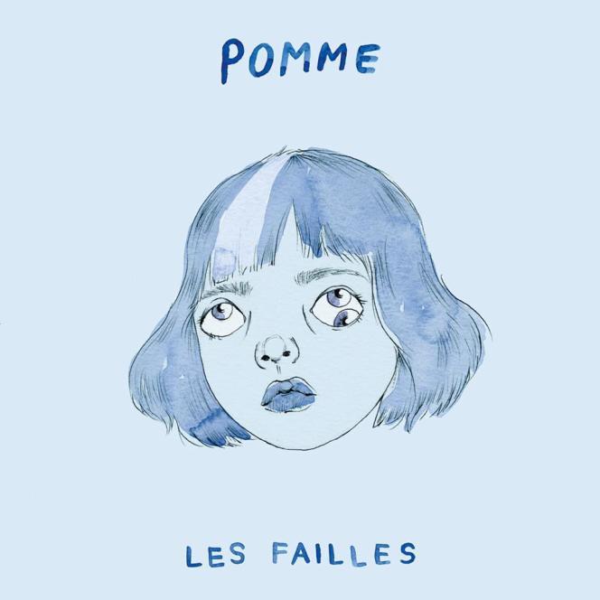 Pochette de l'album « Les Failles », de Pomme.